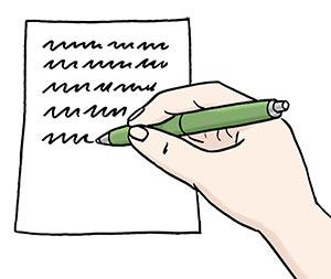 Ein Schreiben