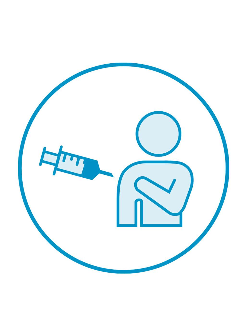 Icon Coronaschutzimpfung im Impfzentrum