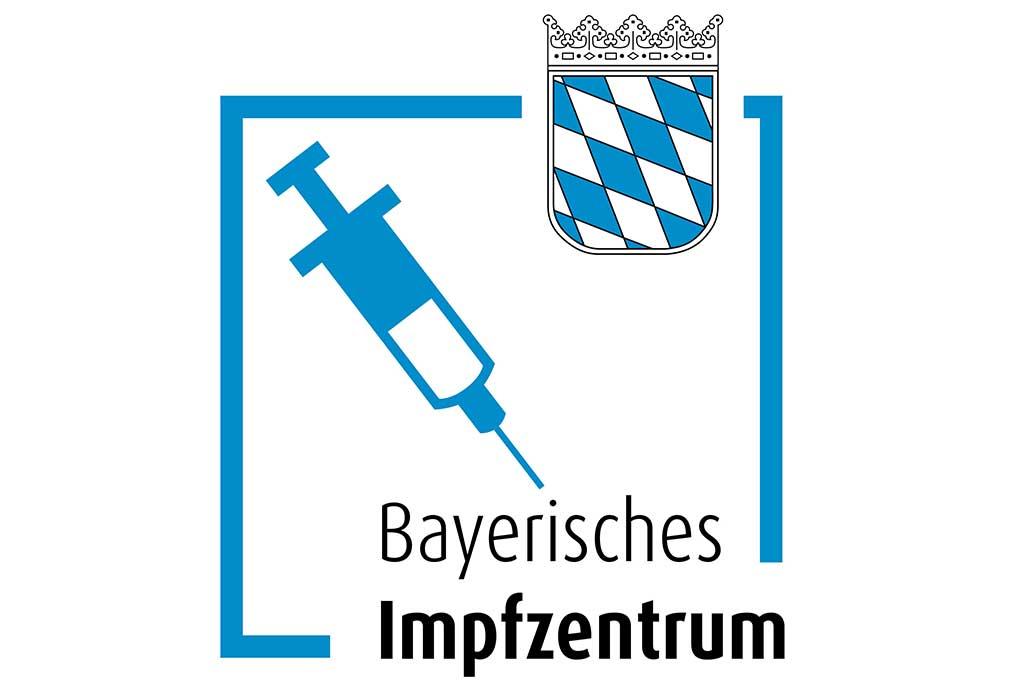 Neutrales Logo der Impfzentren.