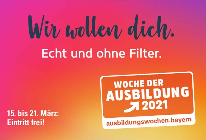 Woche der Ausbildung 2021 - Werbebild