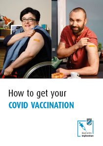 Cover of the online guide: This is how you get your corona vaccination