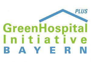 Logo der Green Hospital Plus Initiative