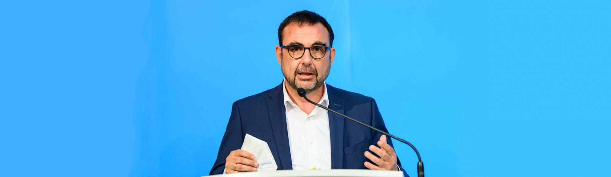 PK zu Sitzung des Ministerrates unter Leitung von Bayerns Ministerpraesident Dr.