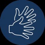 Icon Gebärdensprache