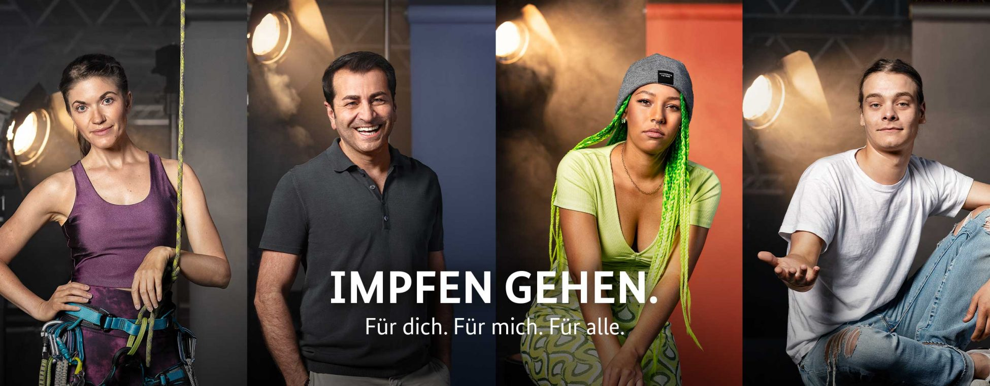 Header/ Newsslider der Imfp-Motivationskampagne